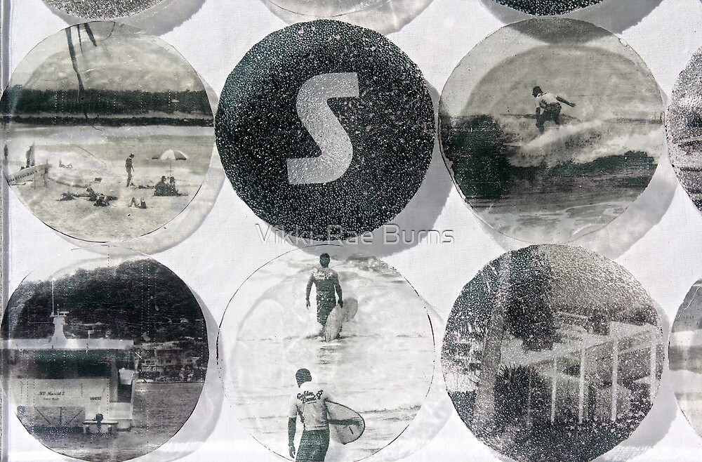 Sand and Surf by Vikki-Rae Burns