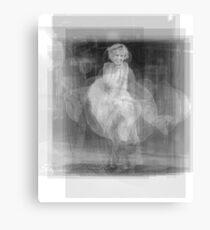 Marilyn Monroe dress Canvas Print