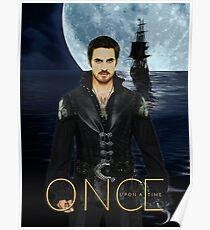"Captain Hook Comic Poster ""Moonlight"" Poster"