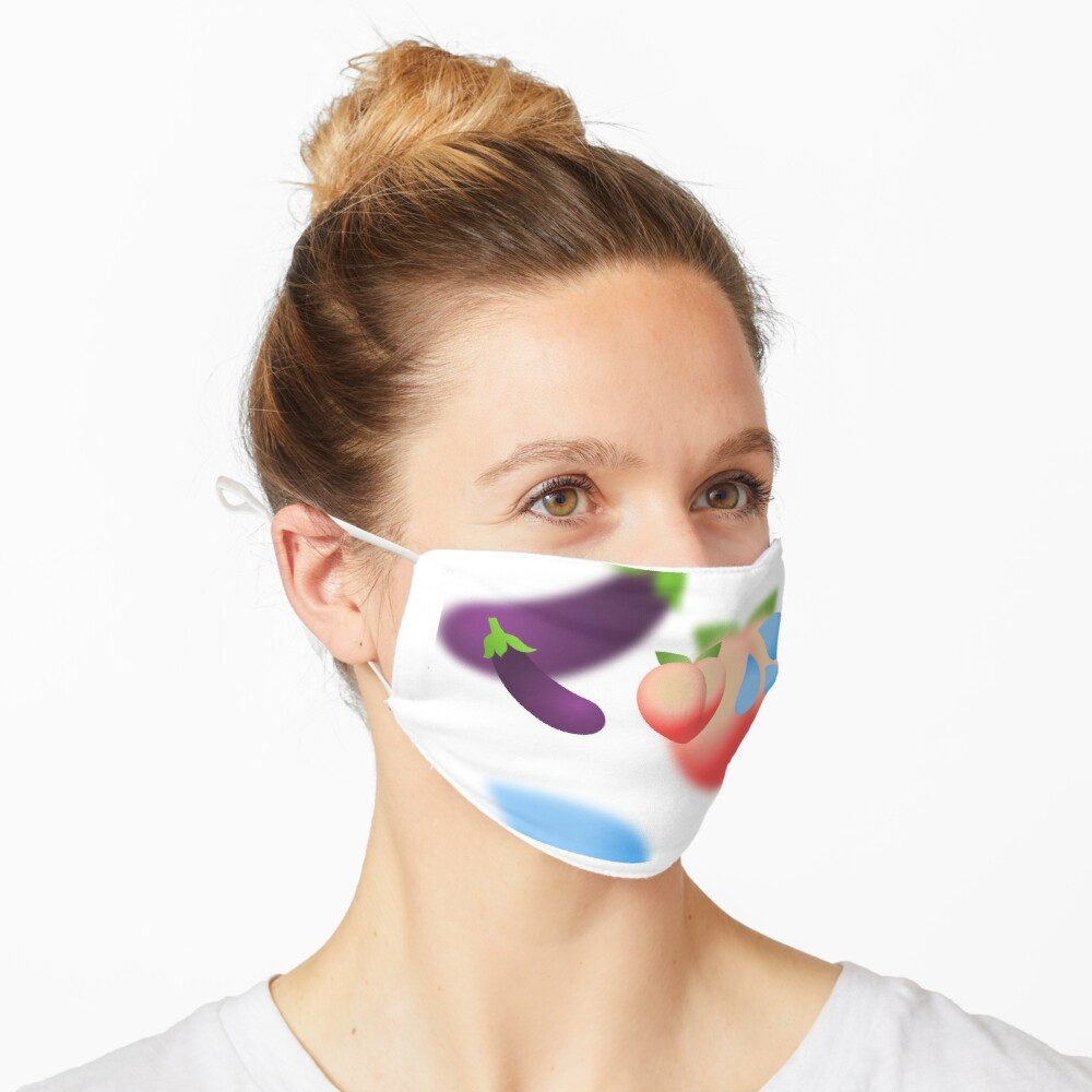 Healthy Diet Gay Emojis Mask