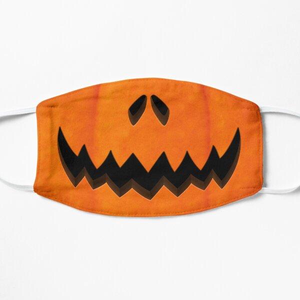 Pumpkin Scary Smile  Flat Mask