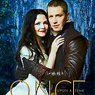 Snow and Charming Comic Poster Version 2 by Marianne Paluso