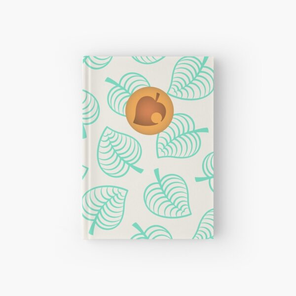 Nook's new horizons shirt Hardcover Journal