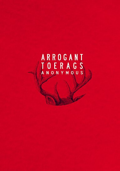 MARAUDERS | Arrogant Toerags Anonymous by rushmores
