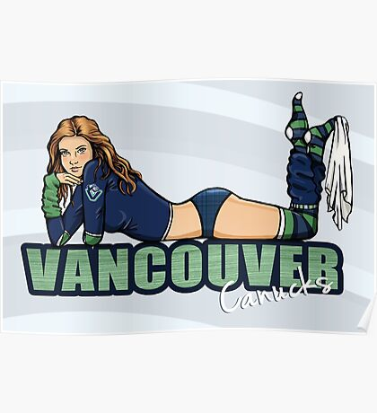 Vancouver Canucks Chickybabe Poster