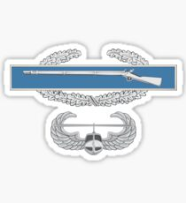 Combat Infantry Badge (CIB) and Air Assault Sticker
