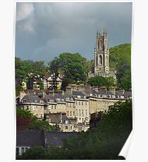 St Stephens Church, Bath Poster