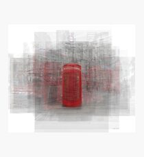 London Phone Booth Photographic Print