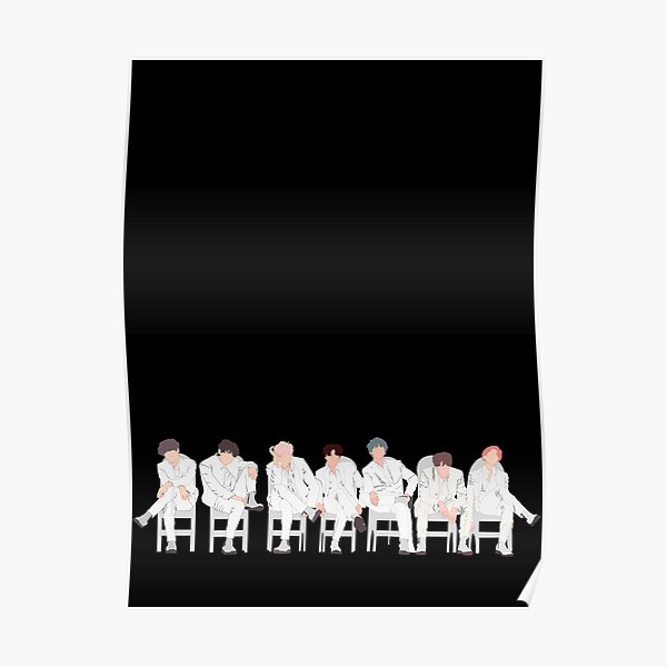 BTS Dionysus Map of soul Persona  Poster