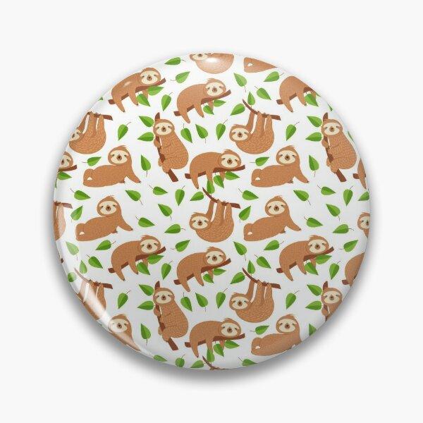 sloth Pattern Pin