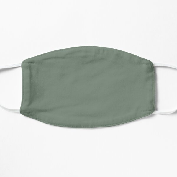 Green Gray Plain Solid Color Background Mask