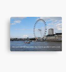 London Eye - Great Britain Canvas Print