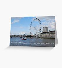 London Eye - Great Britain Greeting Card