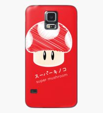 super mushroom -scribble- Case/Skin for Samsung Galaxy