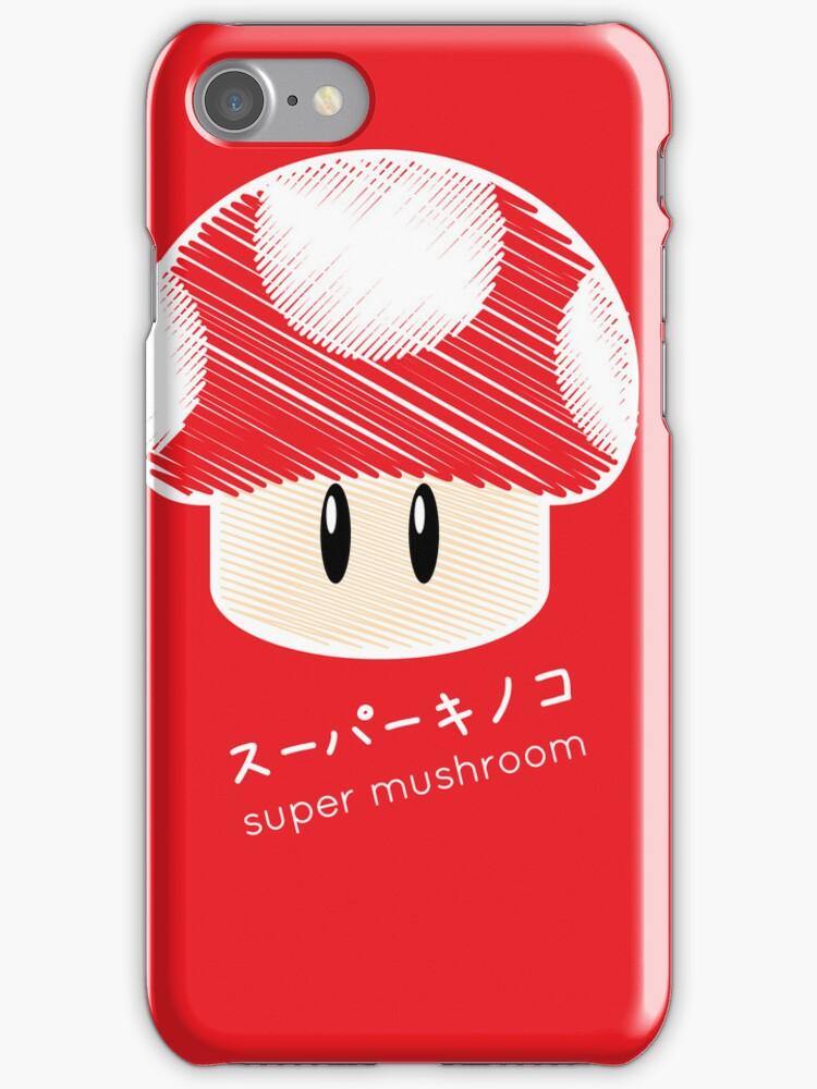 super mushroom -scribble- by Steve Landaverde