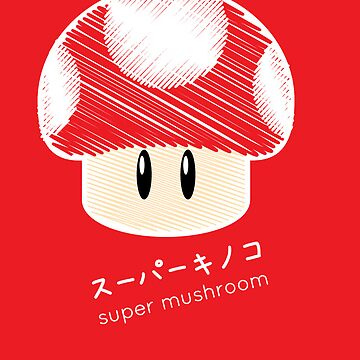 super mushroom -scribble- by cucupan