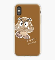 goomba -scribble- iPhone Case