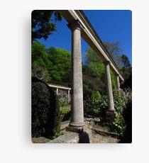 Italian Columns, Iford Manor Gardens Leinwanddruck