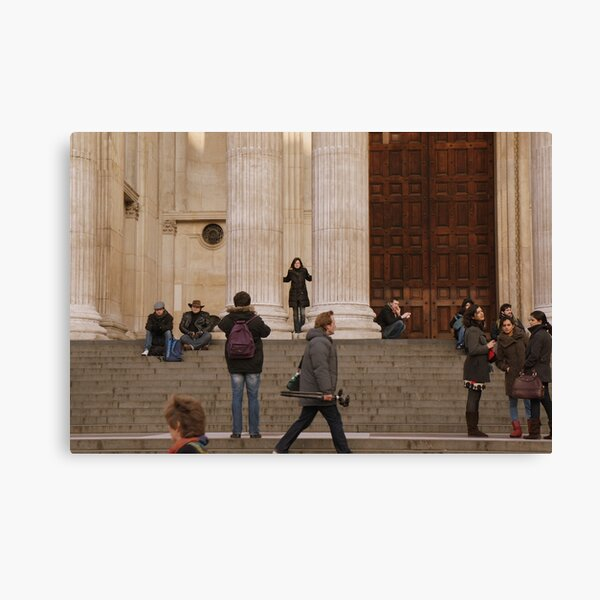 London - St Paul's Cathedral Canvas Print