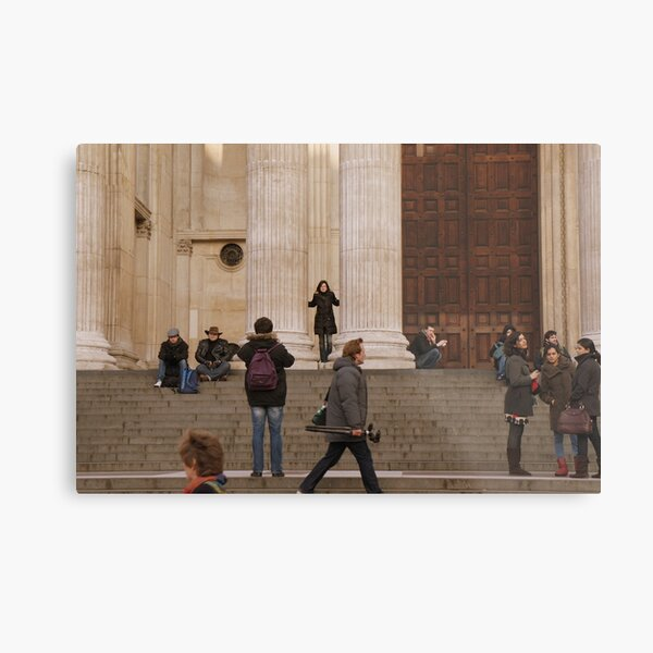 London - St Paul's Cathedral Metal Print