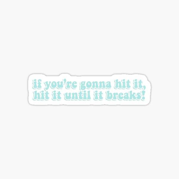 bout to hit it; haikyuu oikawa  Sticker