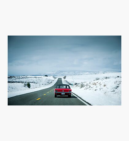 Driving the mother road *Route 66* Photographic Print