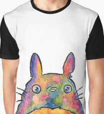 Cute Colorful Totoro! Tshirts + more! Jonny2may Graphic T-Shirt