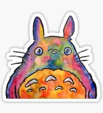 Cute Colorful Totoro! Tshirts + more! Jonny2may Sticker