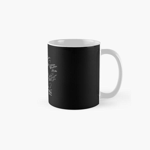 BTS - Logo avec de nouvelles signatures 2020 (noir) Mug classique
