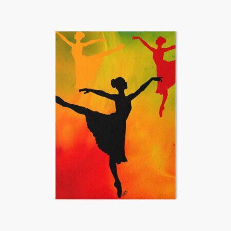 Wandbilder: Tanz Malen | Redbubble