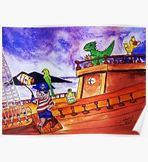 Captain Fraz and the Pirates Poster