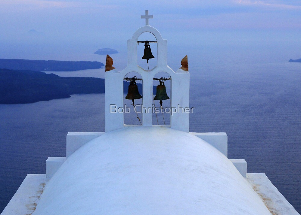 Santorini Splendor by Bob Christopher