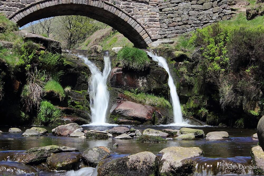 Three Shires Head Waterfall by John Dunbar