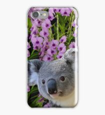 Koala and Orchids iPhone Case/Skin