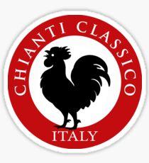Black Rooster Italy Chianti Classico  Sticker