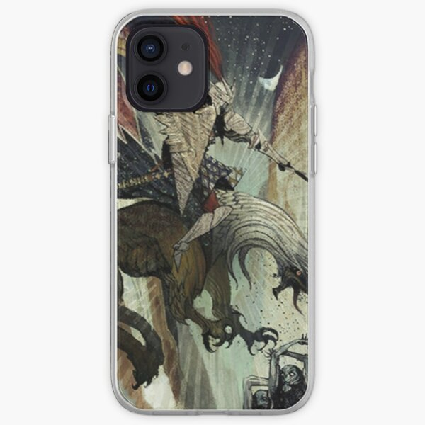 Dragon Age Inquisition-Blackwall Tarot Card iPhone Soft Case