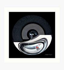 CARZ-Abstract/THREE Art Print