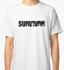 Survivor - Black Ink Classic T-Shirt
