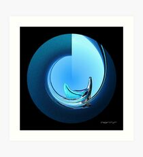 CARZ-Abstract/ELEVEN Art Print