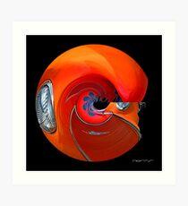 CARZ-Abstract/TWELVE Art Print