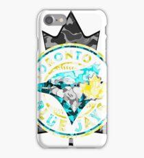BLUE JAYS WHITE iPhone Case/Skin