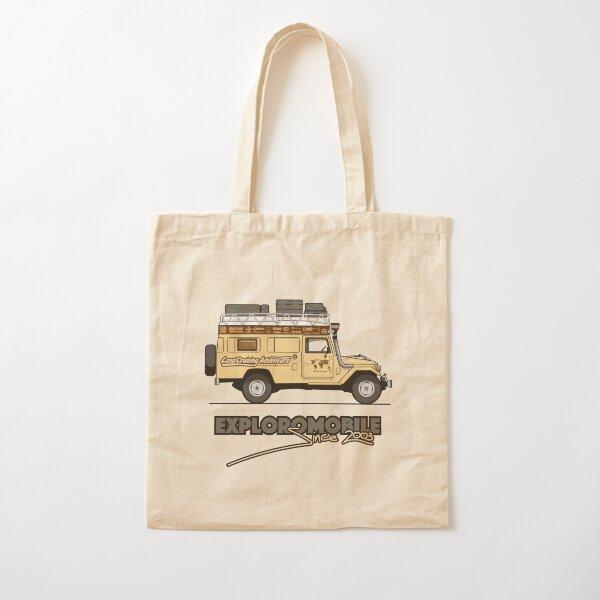 Exploromobile Cotton Tote Bag