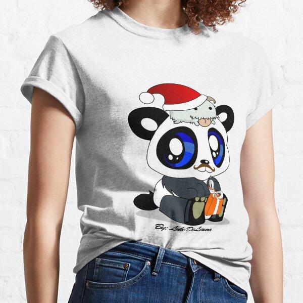 Panda and Poro Holiday Bear Classic T-Shirt