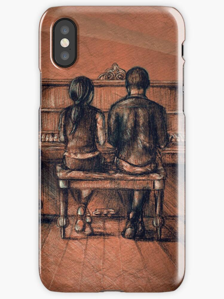 Resonant iPhone case by Sarah  Mac Illustration