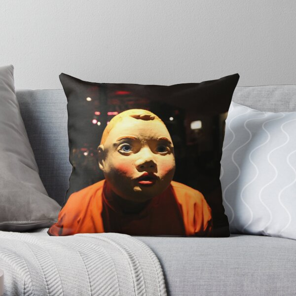 Booji at the Whiskey a Go Go Throw Pillow