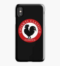 Black Rooster Florence Chianti Classico  iPhone Case/Skin