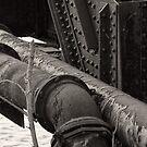 Railroad bridge supports Franklin, Ohio by Jason Franklin