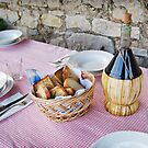 Bread and Wine by Lynnette Peizer