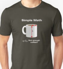 Caffeinated Math - Volume Unisex T-Shirt