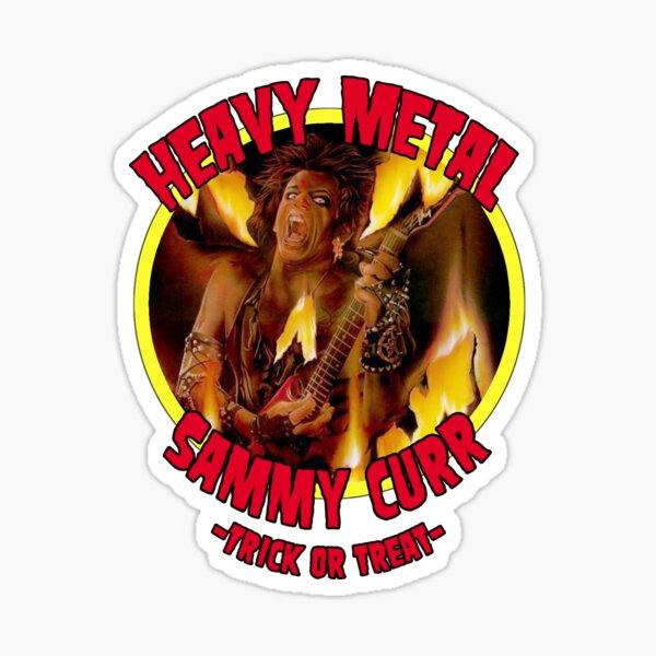 Trick or Treat-Sammy Curr Sticker